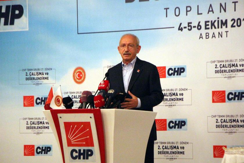 CHP Genel Başkanı Kemal Kılıçdaroğlu: Parti devleti, hanedan devleti oldu