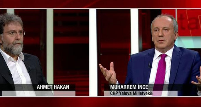 İnce: Tarhan'ın istifası da Batum'a ihraç istemi de yanlış