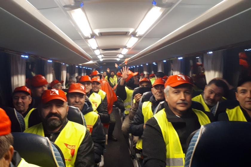 Egetürk işçileri ikinci kez greve çıktı: Uzun soluklu mücadeleye hazırız