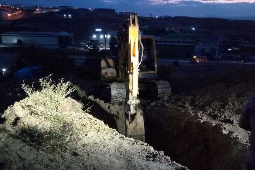 Ankara'da toprak kayması: 1 işçi yaşamını yitirdi