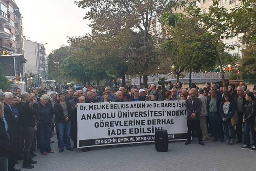Eskişehir'de iki akademisyenin görevlerine son verildi