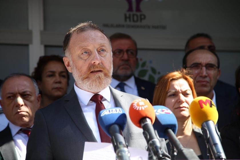 HDP'den çağrı: Operasyona karşı savaş karşıtı demokratik cepheyi oluşturalım