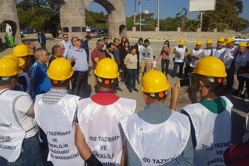 Soma işçileri: Direnişimizle tazminatlarımızı alacağız