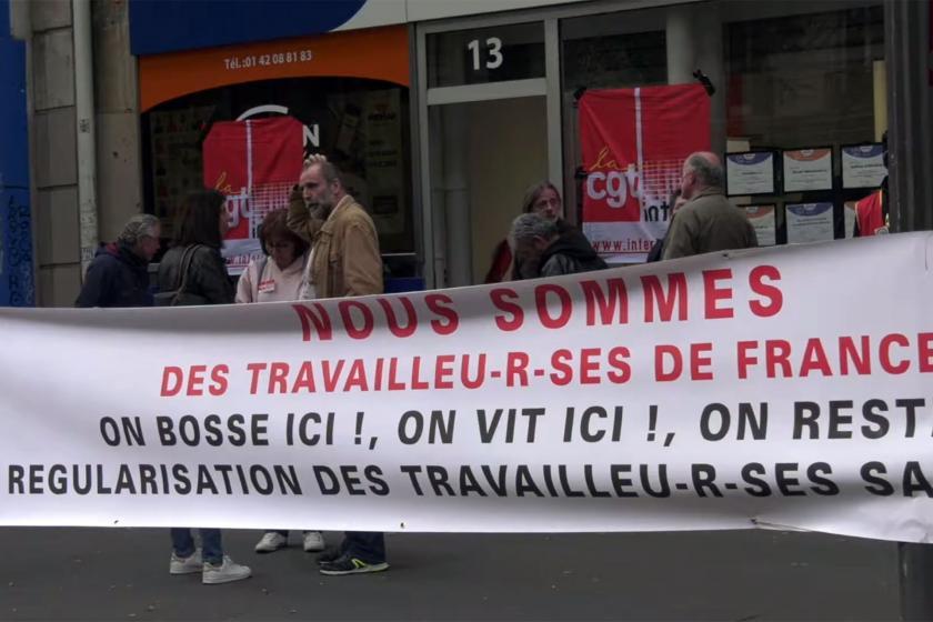 150 göçmen işçi, Fransa işçi sınıfına katılma mücadelesini nasıl kazandı?