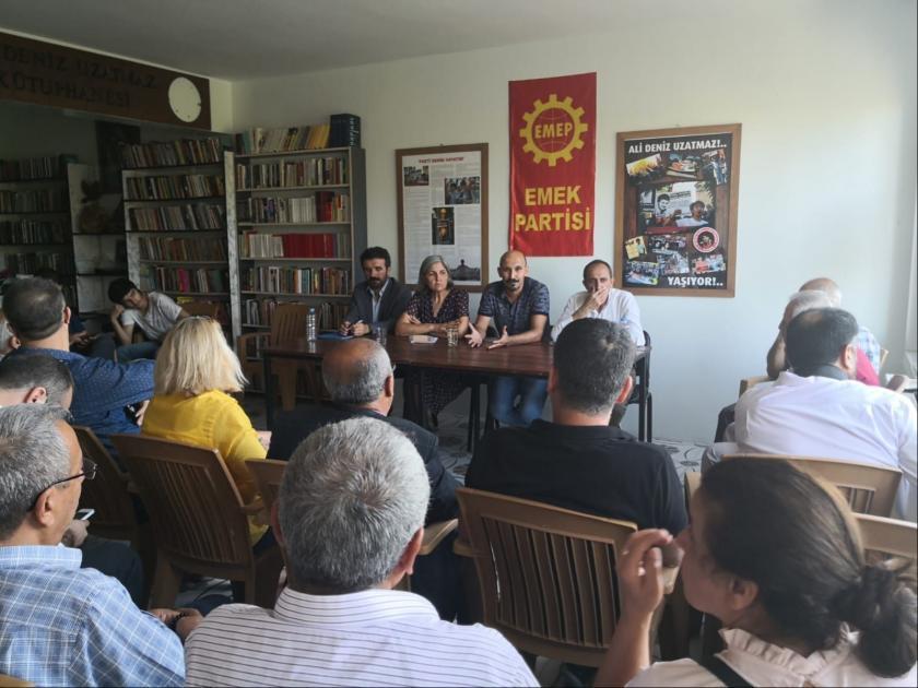 Antep'te EMEP'in planladığı 10 Ekim paneli yasaklandı