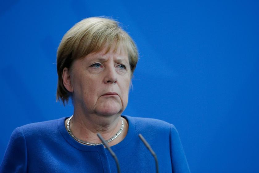 Angela Merkel'den Cumhurbaşkanı Erdoğan'a: Suriye'deki askeri operasyonu durdurun