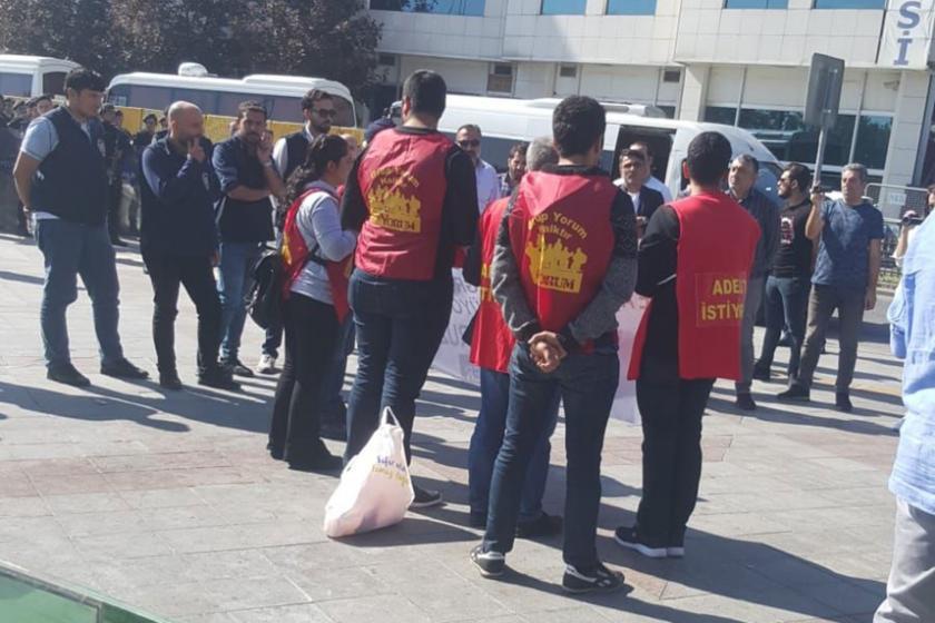 TAYAD'lı ailelerin yürüyüşüne polis müdehale etti: 6 kişi gözaltına alındı