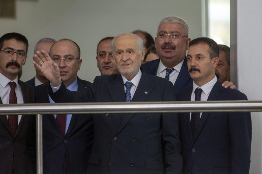 Devlet Bahçeli 22 gün sonra MHP Genel Merkezine geldi