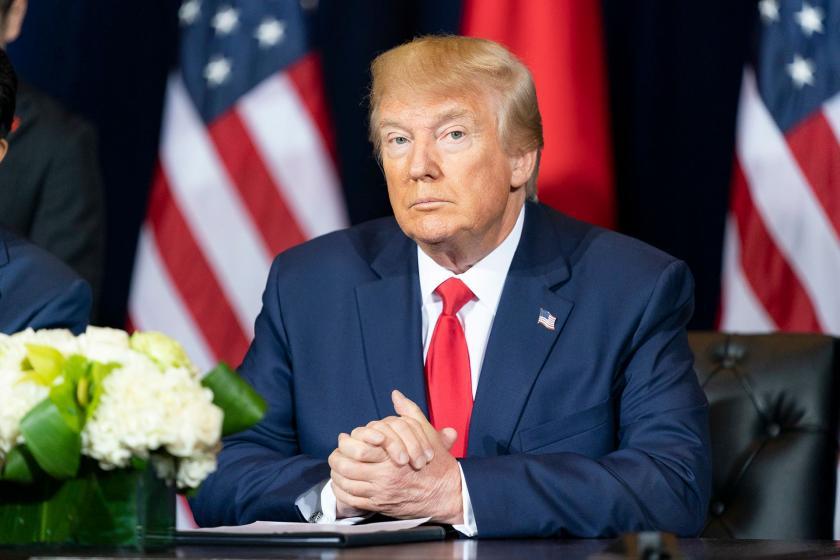 Trump: Türkiye'ye yönelik yaptırımlara izin veren kararnameyi çıkaracağım