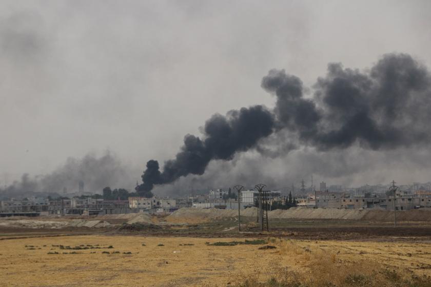 Suriye operasyonunda 9. gün: Nusaybin'de 1 asker yaralandı