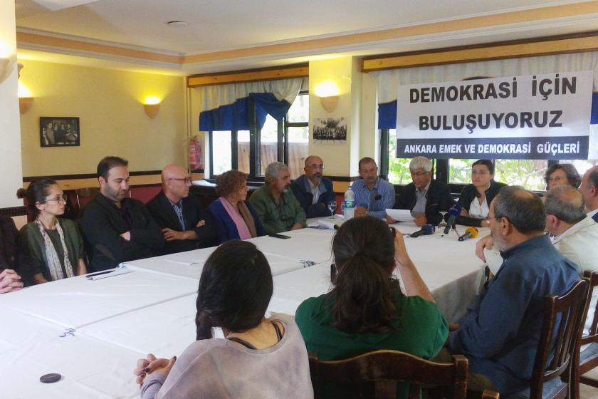 Ankara'da demokrasi mitingine çağrı: Bu suça ortak olmayacağız