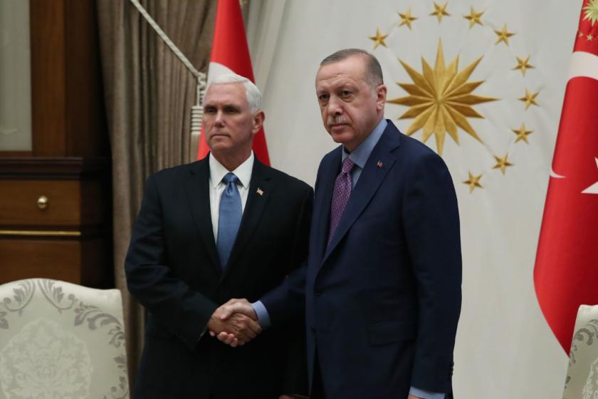 Erdoğan-Pence görüşmesi: ABD 'ateşkes'; Türkiye 'operasyona ara verdik' dedi