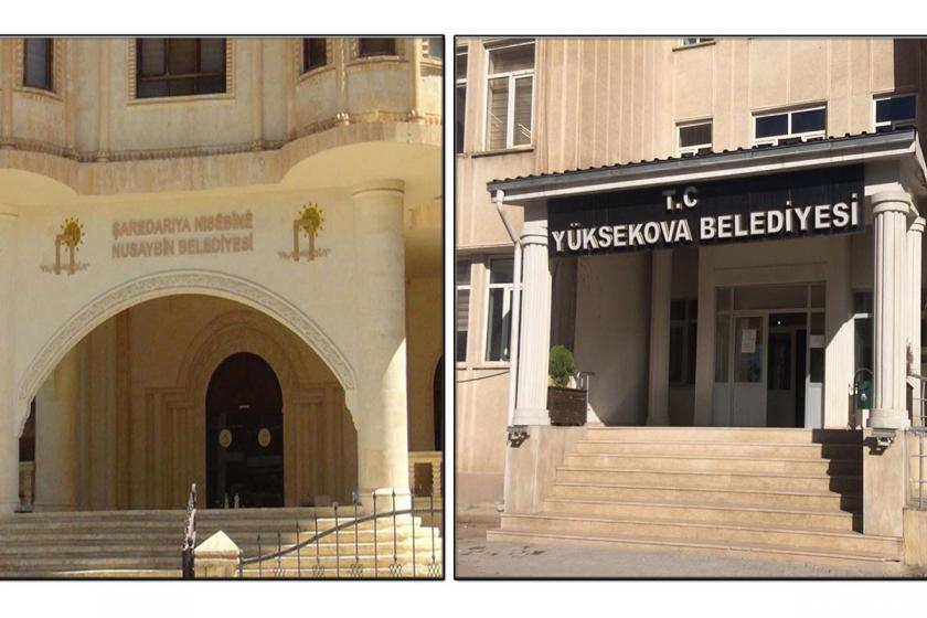 Eş başkanları tutuklanan Hakkari, Nusaybin ve Yüksekova belediyelerine kayyum atandı
