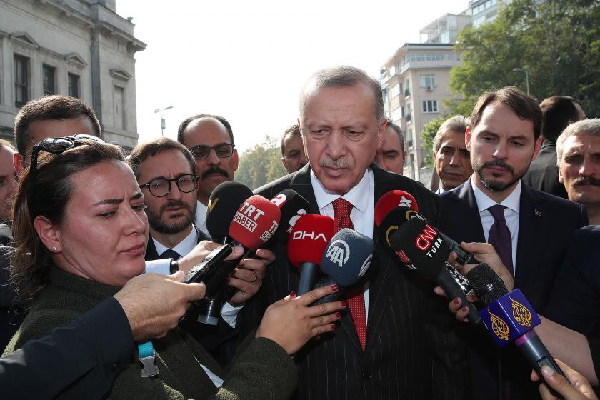 Erdoğan: Putin ile neticeye ulaşacağımıza inanıyorum