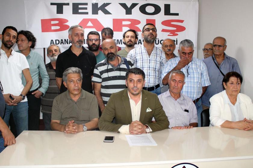 Adana Demokrasi Güçleri: Ülkenin beka sorunu toplumsal barış ve ekonomik kriz