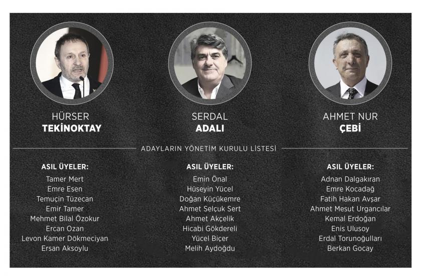 Beşiktaş kulübünün olağanüstü seçimli genel kurul toplantısı başladı