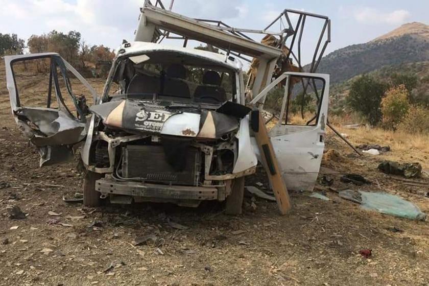 Şırnak'ta orman işçilerine roketli saldırı: 6 yaralı