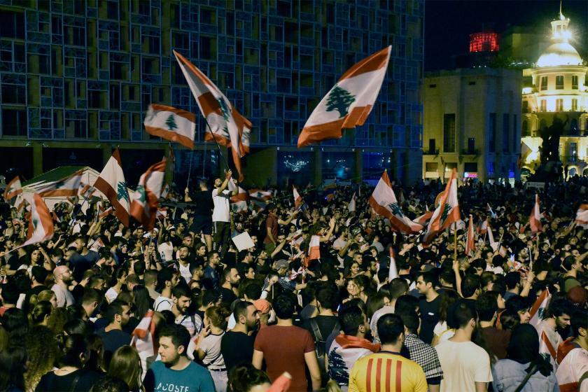 Lübnan'da genel grev ve protestolara devam çağrısı