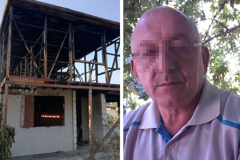Oğlunun eşine şiddet uygulayıp evini yaktı: Yine serbest bırakıldı