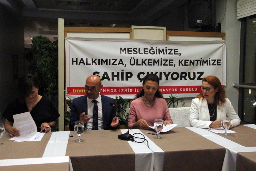 TMMOB İzmir İKK ile İzmir Büyükşehir Belediyesi işbirliği protokolü imzaladı
