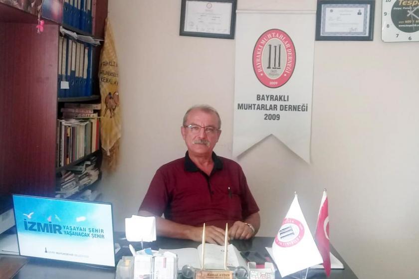 İzmir Yamanlar Mahallesi Muhtarı Kemal Aydın: Mahallede 3 kişiden biri yardıma muhtaç