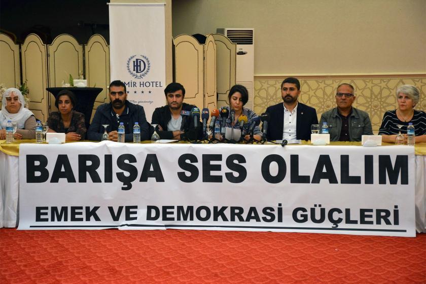 Diyarbakır'da kurumlardan ortak çağrı: Sorunlar barışçıl yöntemlerle çözülsün