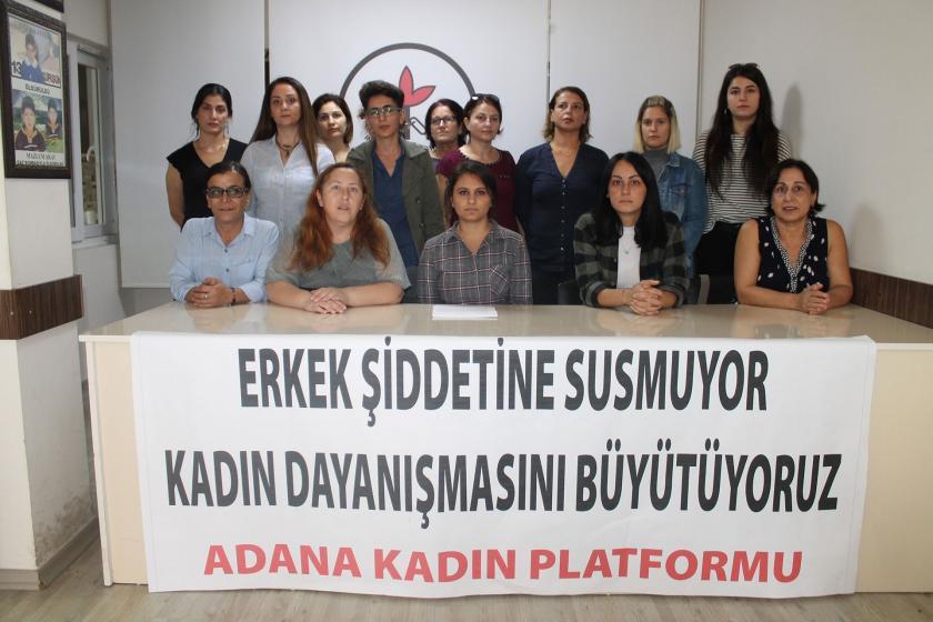 Adana Kadın Platformu, üyelerine yönelik şiddeti kınadı