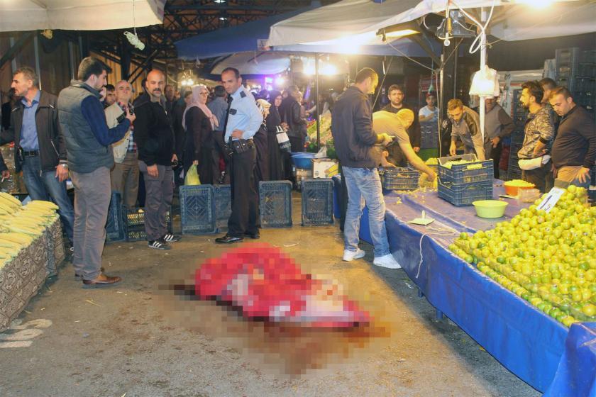 Tartıştığı pazarcıları vuran emekli polis tahliye edildi