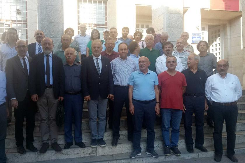 TTB Merkez Konsey Üyesi Dr. Yaşar Ulutaş'ın işe iade davası görüldü