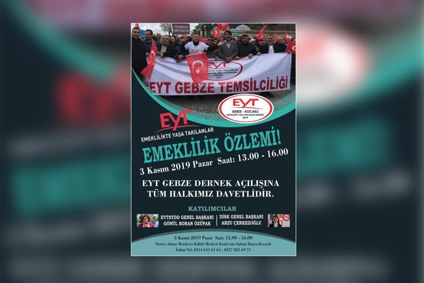 EYT'liler Gebze'de dernek açılışına hazırlanıyor