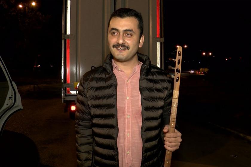Silivri Cezaevinde tutuklu bulunan Eren Erdem tahliye oldu