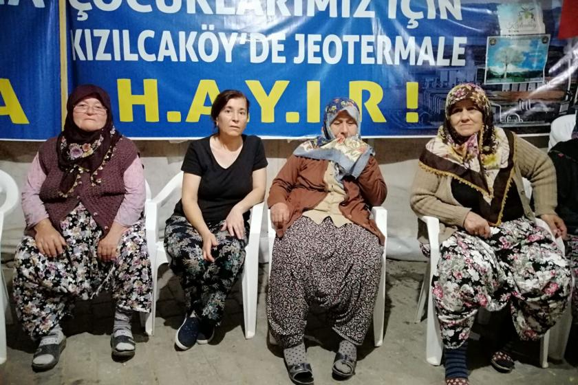 Kızılcaköylü kadınlar, JES'in tarım alanlarını yok ettiğini söyledi