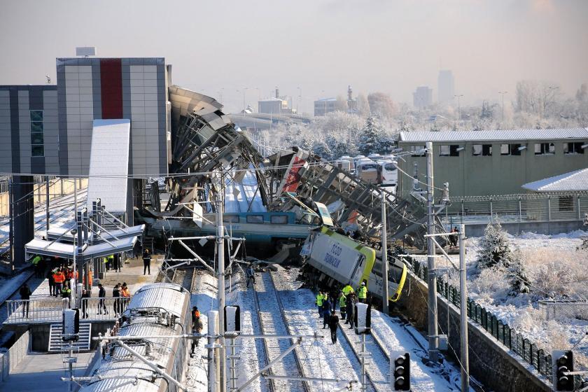 Ankara'da 2018'de 9 kişinin ölmesine neden olan hızlı tren kazasının davası 13 Ocak'ta başlayacak