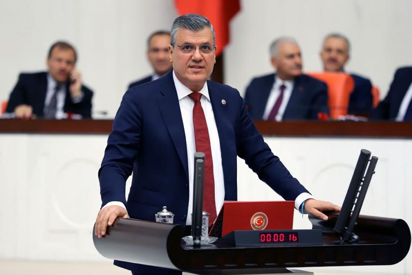 CHP Adana Milletvekili Ayhan Barut Meclis kürsüsünde konuşuyor