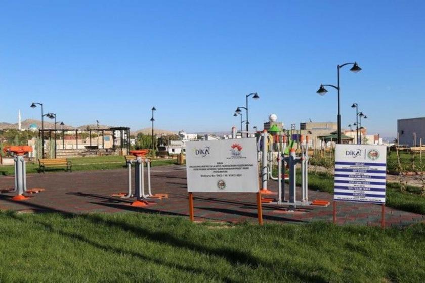 Mardin Dargeçit'te, Süryani ve Ermeni mezarlıklarının üzerine yapıldığı iddia edilen Millet Bahçesi.