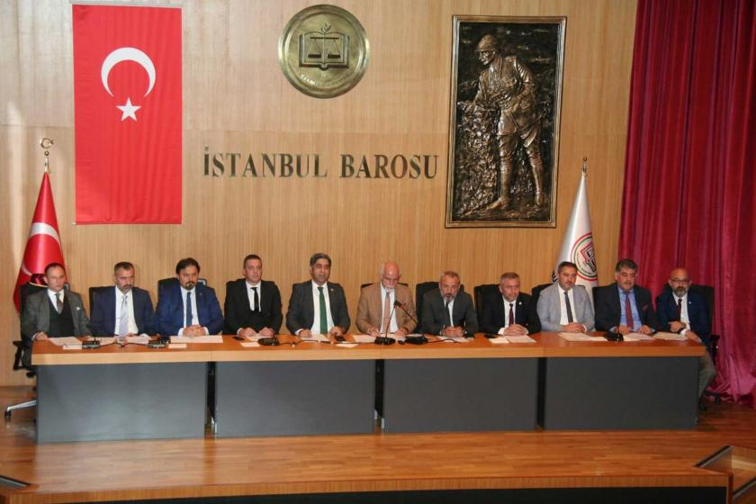 12 baronun başkanı bir araya gelerek, genel kurul çağrısını yineledi.