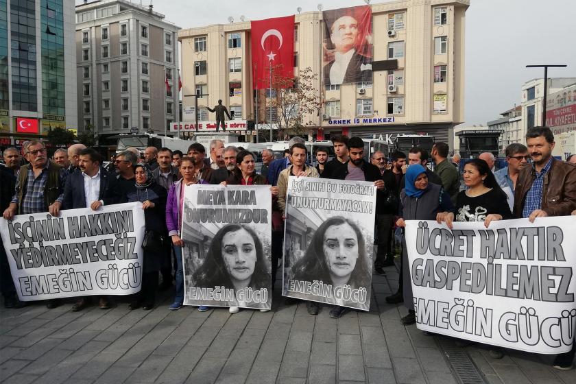 Meya Kara'ya dönük saldırı Esenyurt meydanında protesto edildi