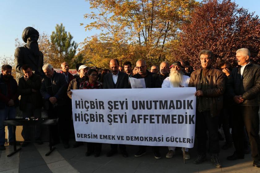 Dersim Emek ve Demokrasi Güçlerinin düzenlediği Seyit Rıza anması