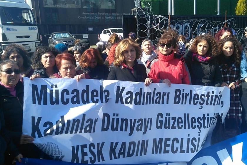 KESK Kadın Meclisi eylemi