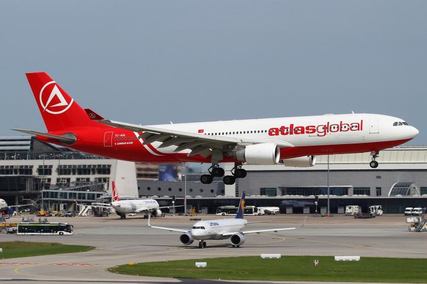 Atlasglobal'a ait bir uçak