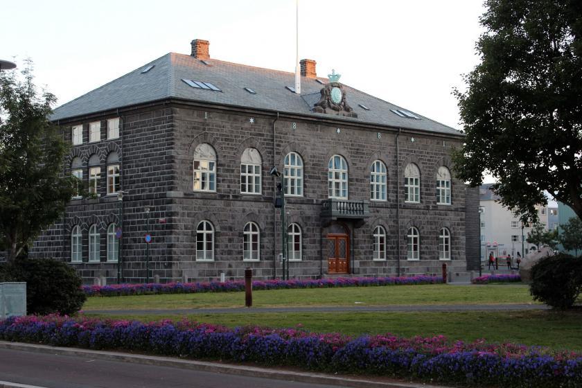 Reykjavík'teki Parlamento Binası