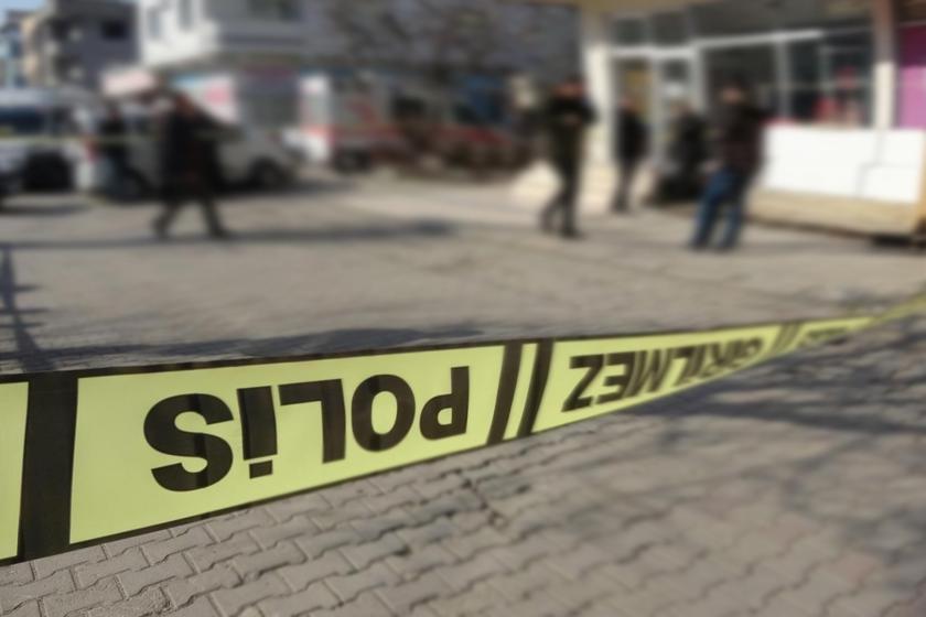 'Olay yeri, girilmez' yazılı polis şeridi
