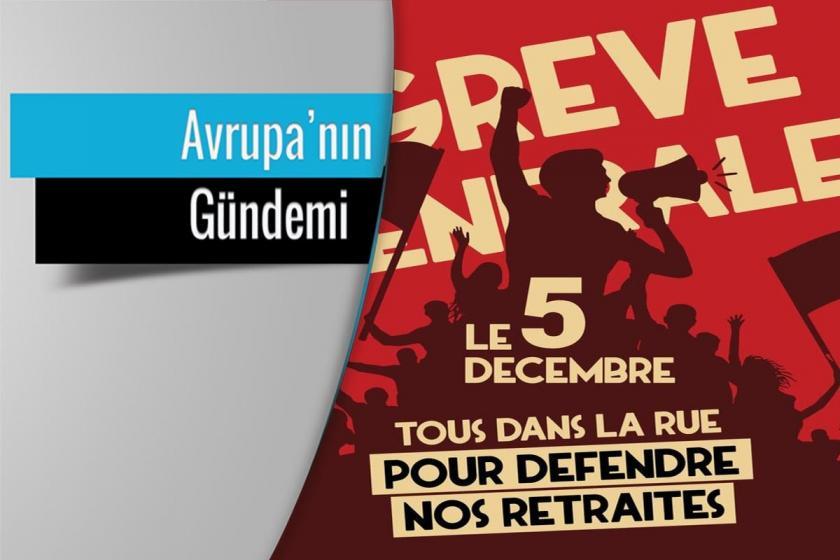 """5 Aralık """"Genel Grev ve Mücadele Günü"""" afişi"""