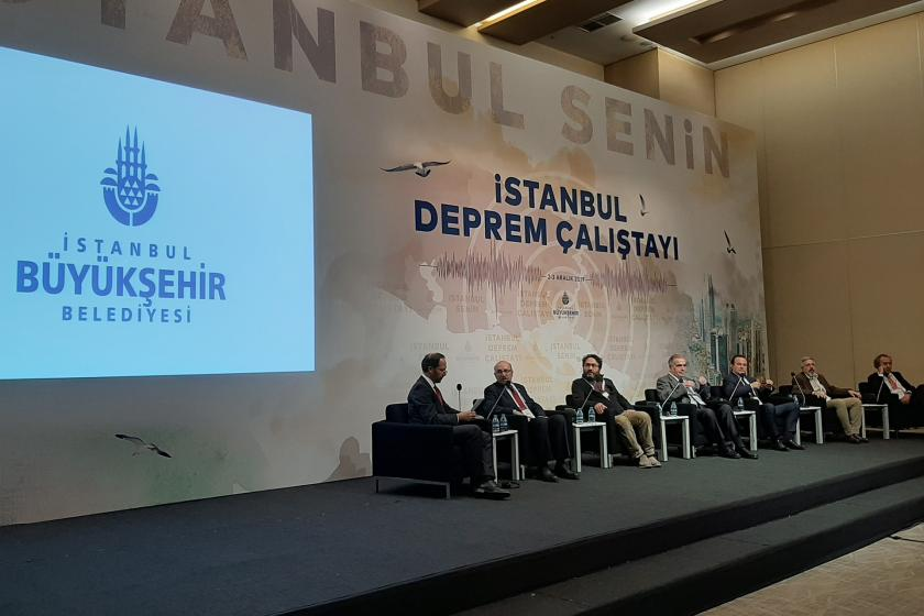 İstanbul Deprem Çalıştayında yer alan konuşmacılar