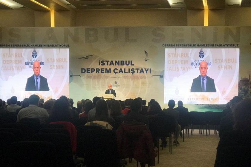İBB'nin düzenlediği İstanbul Deprem Çalıştayı