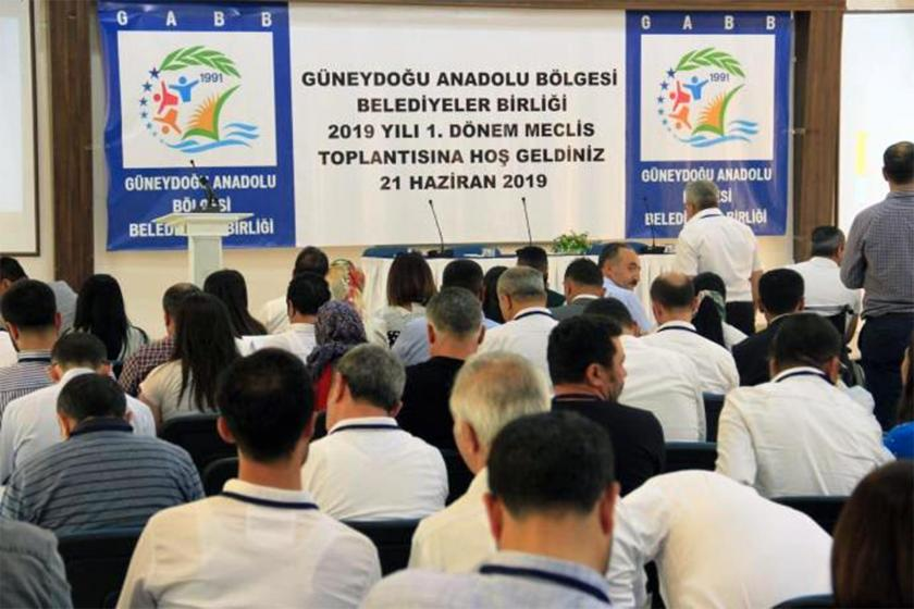 Güneydoğu Anadolu Bölgesi Belediyeler Birliği toplantısı