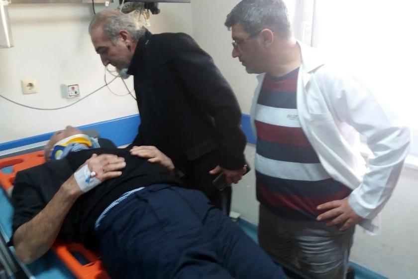 Selahattin Demirtaş'ın ailesini taşıyan aracın yaptığı kazada yaralananlardan biri