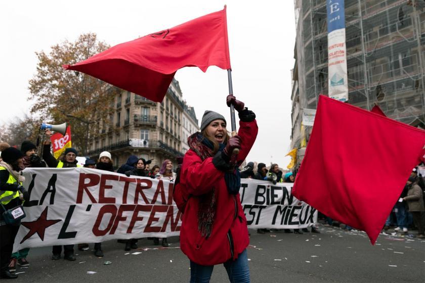 Image result for Fransa'da grev