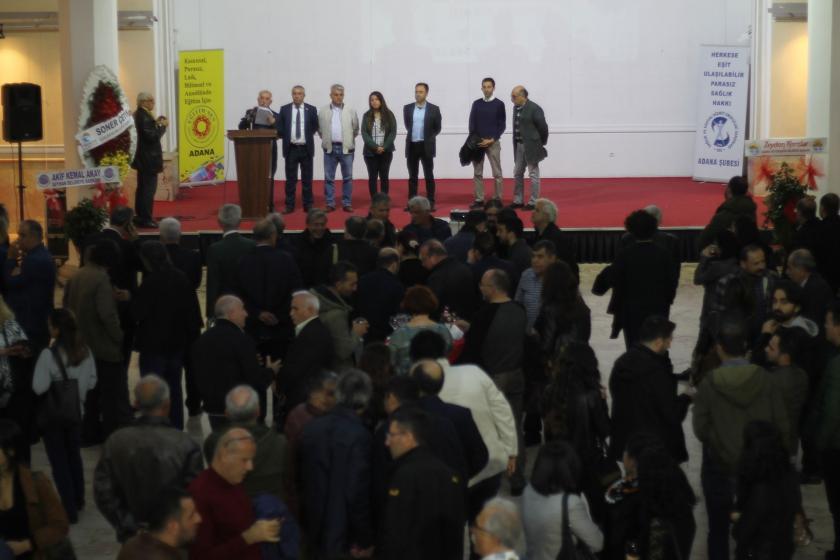 Adana'da düzenlenen KESK kokteylinden görünüm