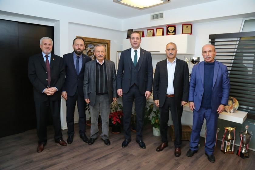 Gümüşhane Şiran Kırıntı Çevre Platformu temsilcilerinin Ankara Baro Başkanı'nı ziyareti.